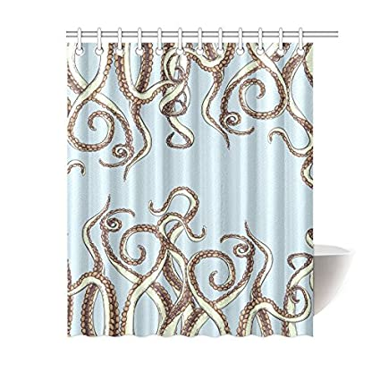 Image Unavailable Not Available For Color InterestPrint Kraken Shower Curtain