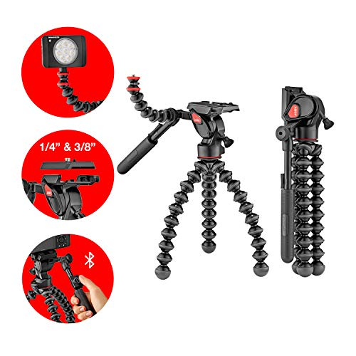 Joby GorillaPod 3K Video PRO, Black (JB01562)