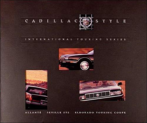 1991 Cadillac Allante/Seville STS/El Dorado Touring Coupe Sales Catalog Original