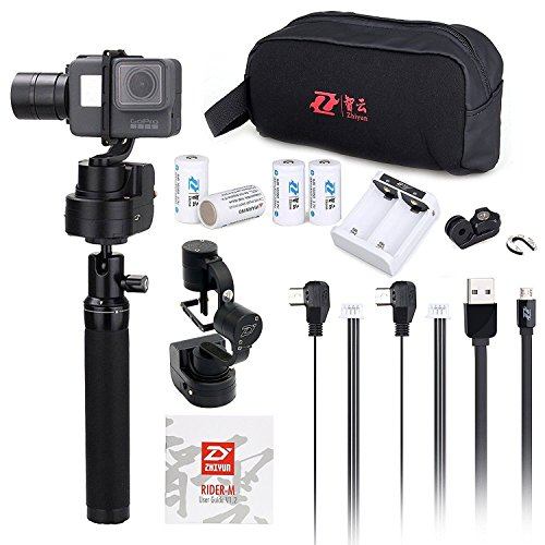 Zhiyun Z1-Rider M WG Wearable 3 Axis Brussless Gopro Camera Gimbal Stabilizer for Gopro Hero 5/4/3/3+ Support APP Remote Control