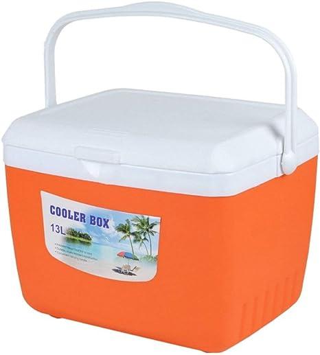 Kievy Caja del refrigerador del Coche 13L Organizador Frio y Calor Al Aire Libre Hielera Enfriador para Picnic Senderismo Camping Caja de Almacenamiento de Alimentos, 32cm x 27.5cm x 26cm: Amazon.es: Deportes