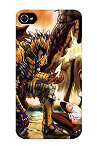 Honeyhoney Case Cover Protector Specially Made For Iphone 4/4s Monster Hunter