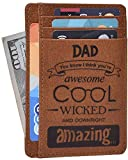 Personalized Gifts for Men and Women - Graduation Best Gifts Fathers Day From Daughter Son Thank You Mothers Day Gift Ideas (Dad Cool and Amazing)