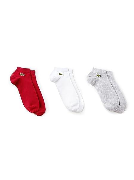 Lacoste Calcetines para Hombre (Pack de 3)