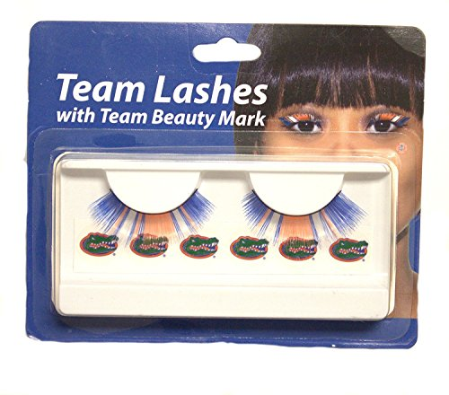 Little Earth Productions NCAA Licensed Team Lashes Eyelash extensions (Florida Gators) from Little Earth Productions