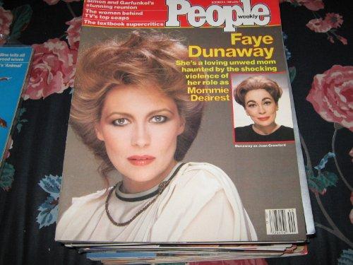 People Weekly (FAYE DUNAWAY...Mommie Dearest....Joan Crawford, October 5 , 1981)