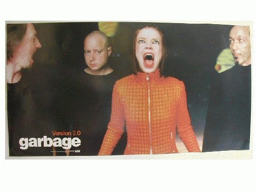 Garbage Poster Band shot Version 2.0