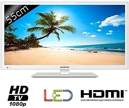 OCEANIC - Televisor LED, Full HD, 21,5