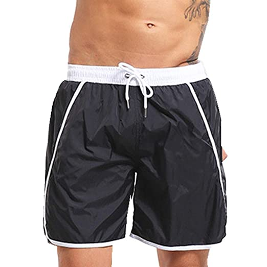 7f30d36e8c Image Unavailable. Image not available for. Color: Sunyastor Men's Shorts  Swim Trunks ...