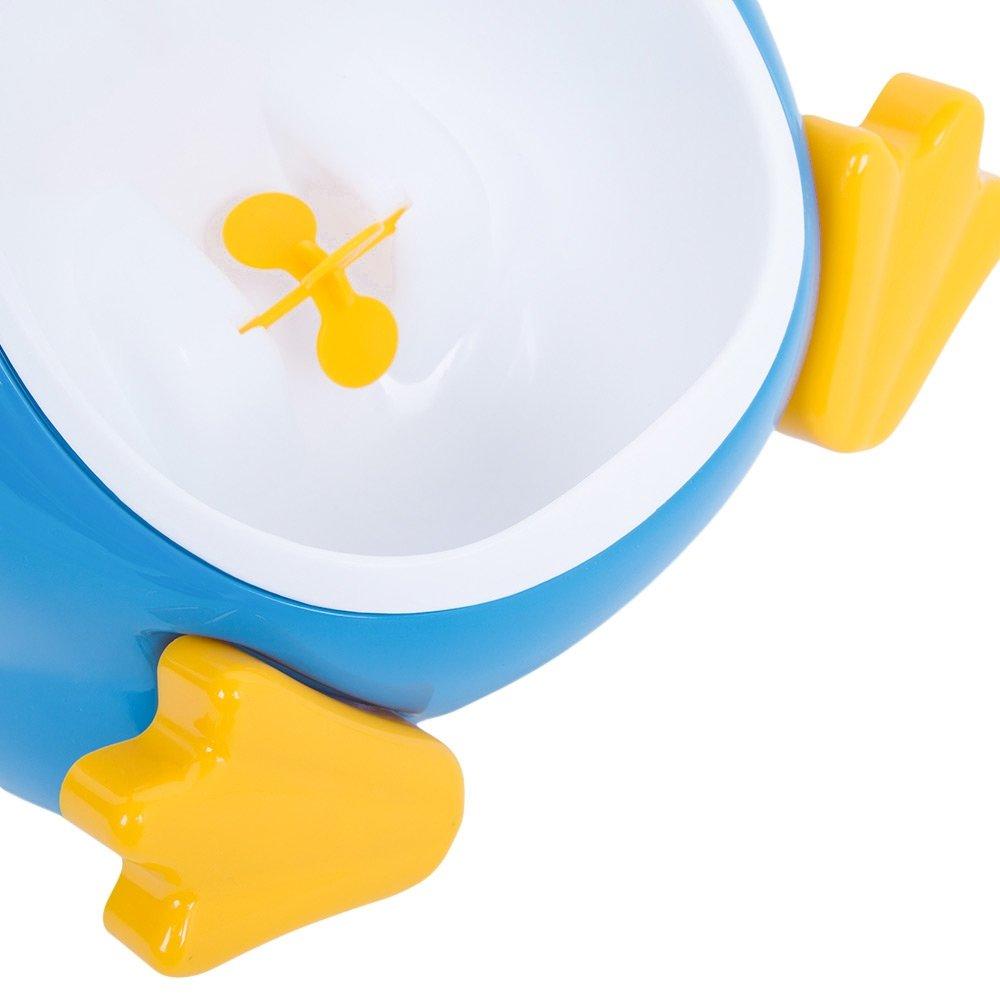 blau nette Pinguin Form Junge Urinal T/öpfchen stehendes Pipi Toiletten Training mit T/öpfchen Trainings Spiel