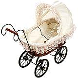 Small Foot Company - 8755 - Doll Stroller - Antique Pram