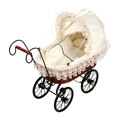 Antique Wicker Pram - 2