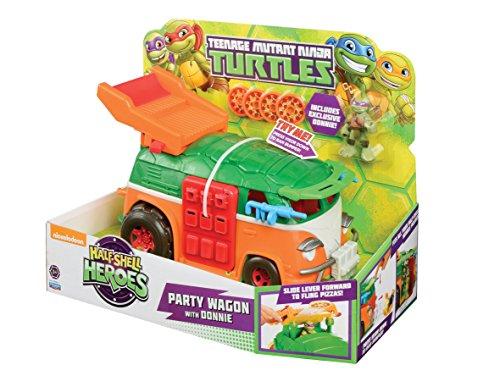 Teenage Mutant Ninja Turtles Party Wagon With Donnie (Dispatched From UK) by Teenage Muntant Ninja Turtles