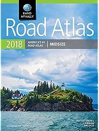 2018 Rand Mcnally Midsize Road Atlas