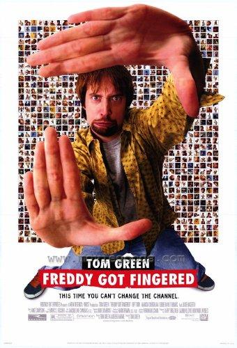 Freddy Got Fingered Movie Poster 2001 - Tom Green Rip Torn Harland Williams Eddie