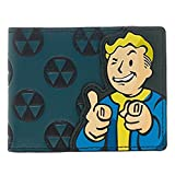 Bethesda Fallout 4 Vault Boy Appliqu? With Embossing Bi Fold Wallet Costume Accessory