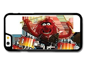 The Muppets Animal Drummer Playing Drums Funny White Background case for iPhone 6