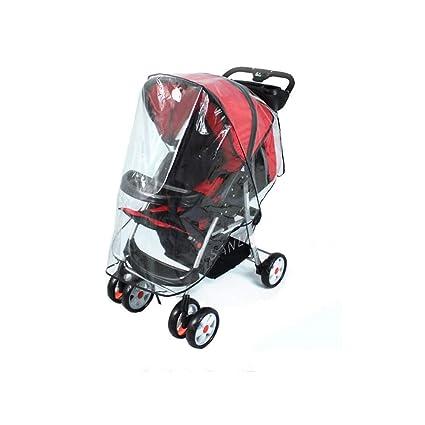 Protector impermeable universal para cochecito de bebé o cochecito de bebé (aumento de tamaño), 1 unidad