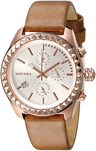 Diesel Women's DZ5488 Kray Kray Series Analog Display Quartz Brown Watch