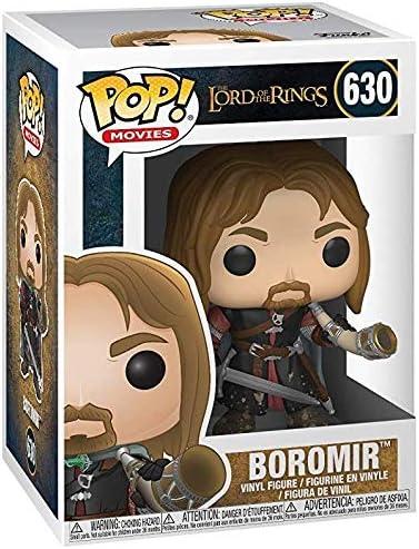 Boromir w// Horn of Gondor Lord of the Rings Funko POP Vinyl Figure 630