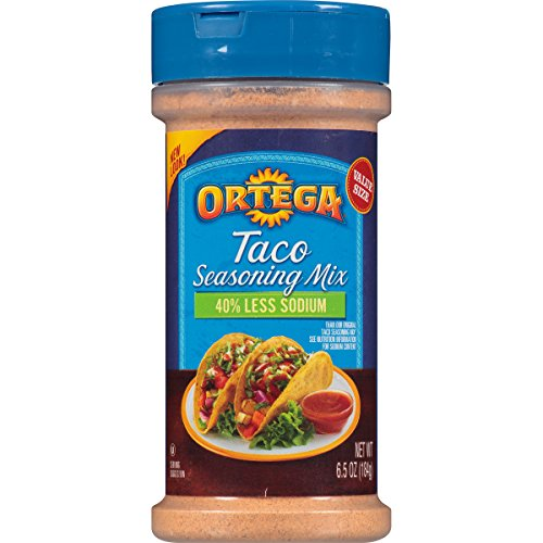 Ortega Seasoning Mix, 40% Less Sodium Taco, 6.5 Ounce