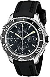 TAG Heuer Men's THCAK2111FT8019 Aquaracer Analog Display Swiss Automatic Black Watch
