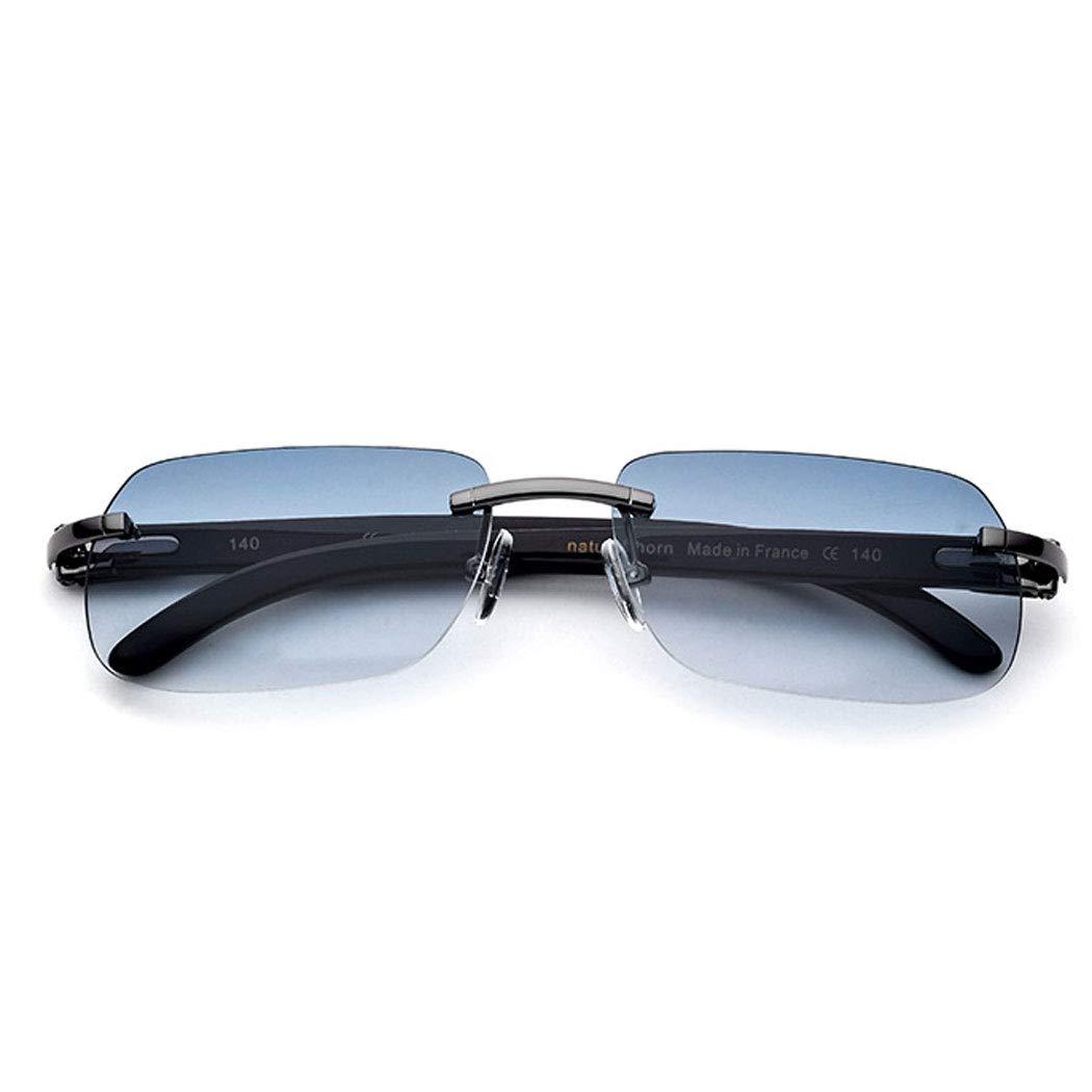 e9cd5e97c9 Amazon.com: GJFeng Horns Sunglasses Precious White Horns Legs High-end  Sunglasses Anti-UV Sunglasses Men Outdoor Sports Driving Fishing 。