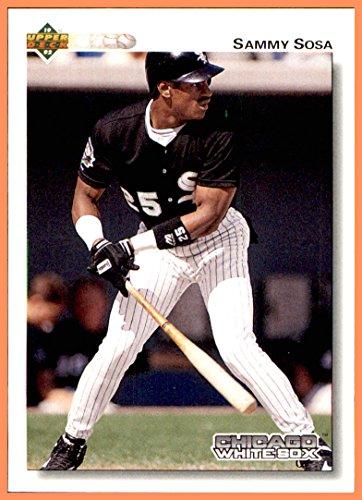 1992 Upper Deck #438 Sammy Sosa CHICAGO WHITE SOX