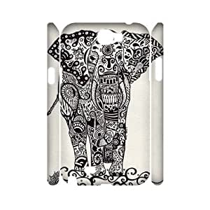 Aztec Elephant 3D-Printed ZLB533154 DIY 3D Phone Case for Samsung Galaxy Note 2 N7100