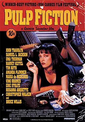 Your Space UK Pulp Fiction Movie 3D Lenticular