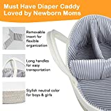 Baby Diaper Caddy Organizer - Changing Table Diaper