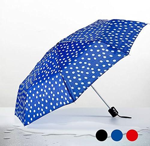 Paraguas con De Los diseño de lunares plegable – Accesorio de moda color – rojo: Amazon.es: Electrónica