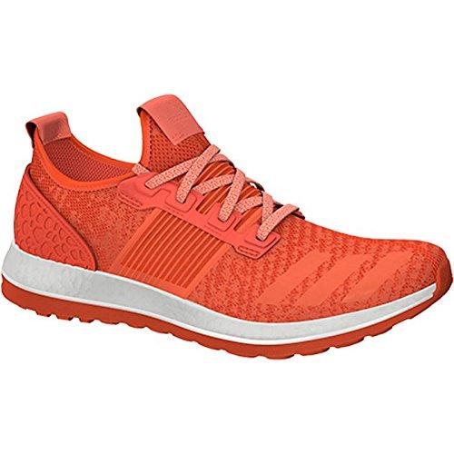 adidas Performance Herren Pureboost ZG Laufschuh Collegiate Orange / Collegiate Orange / Hellgrau