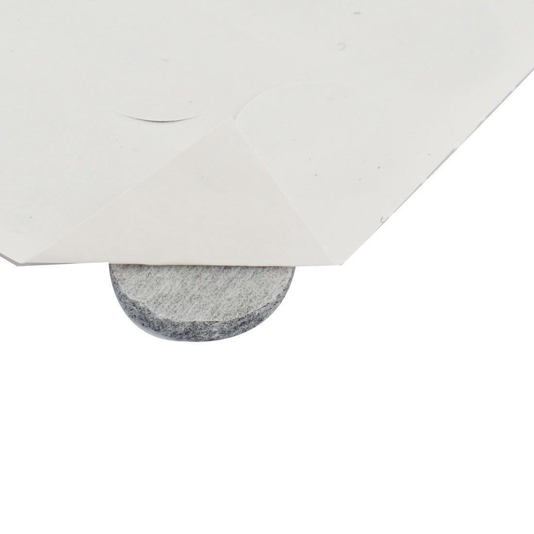 Amazon.com: Silla Mesa Redonda eDealMax Anti arañazos Muebles de fieltro de ratón fundas de cojines 18mm Dia 640pcs gris: Kitchen & Dining
