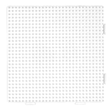 HAMA BEADS LARGE WHITE SQUARE SINGLE PEGBOARD NO. 234