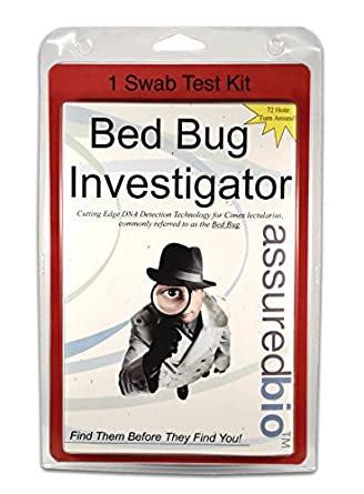 Bed Bug Investigator Bed Bug Dna Test Kit With Lab Analysis