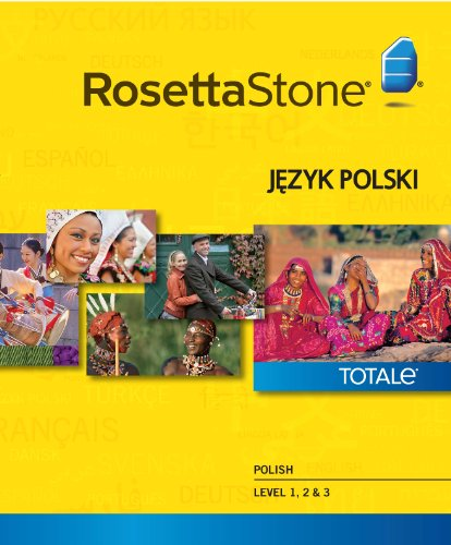 Rosetta Stone Polish Level 1-3 Set [Download]