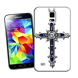 Lavender's shop Cross For TPU Hard Cover Case Samsung Galaxy S5