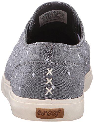 Reef Womens Deckhand 3 Tx Fashion Sneaker Blue Dots