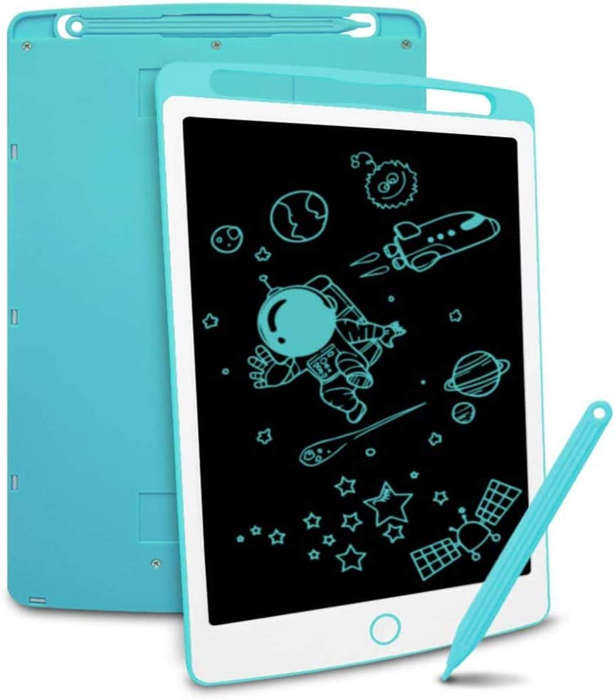 GEQWE LCD Writing Tablet 3 Pcs 8.5 Inch LCD Smart Electronic Tablet with A Key Lock Screen to Clear The Graffiti Painting Board Portable LCD Writing Tablet Writing Board Doodle
