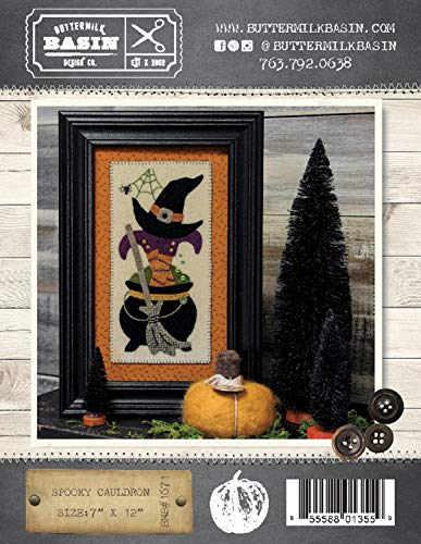 Spooky Cauldron Halloween Quilt Pattern - by Buttermilk Basin - BMB 1671-7