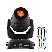 Chauvet DJ Intimidator Spot 355Z IRC LED-based Moving-head Spotlight Lighting Fixture and IRC Remote Bundle
