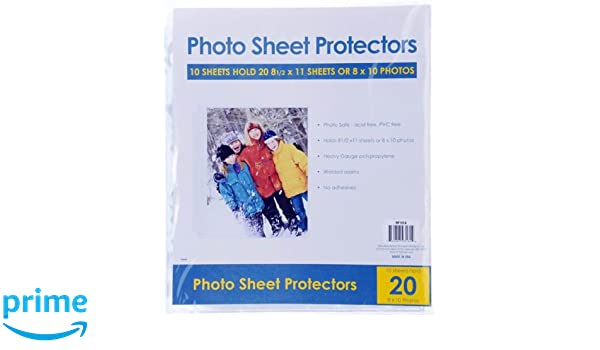 Pack of 25 Pioneer Photo Albums RW-SB25 Bulk Sheet Protectors for 8.5 x 11 Pages