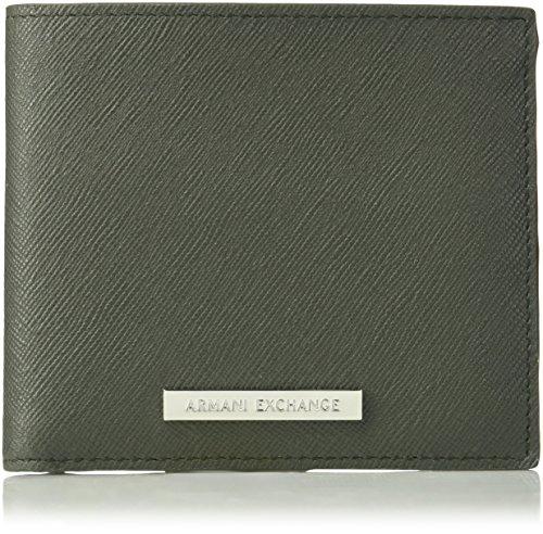 - Armani Exchange Men's Saffiano Wallet
