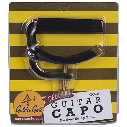- Golden Gate GC-8 Guitar Capo