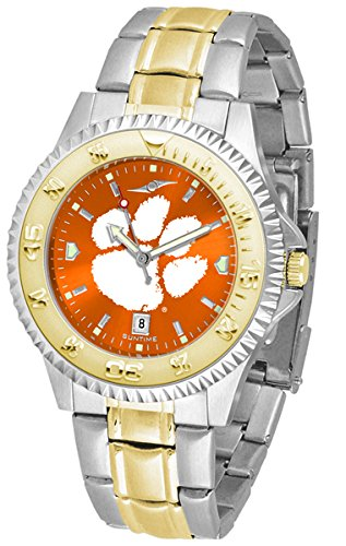 (Clemson Tigers Competitor Two-Tone AnoChrome Men's Watch)