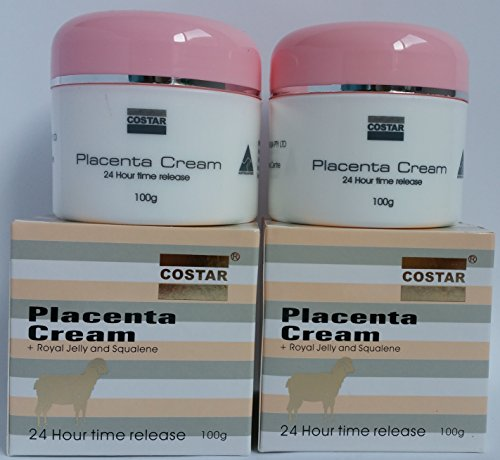 Costar Placenta Cream with Royal Jelly and Squalene 24Hr time release Made in Australia