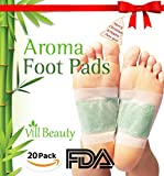 #2: FDA CERTIFIED Upgraded 2 In 1 Foot Pads, Best Nature Foot Pads, Rapid Foot Care and Pain Relief, Higher Efficiency Than Foot Cushions, Sleeve Metatarsal Pads - 2017 New