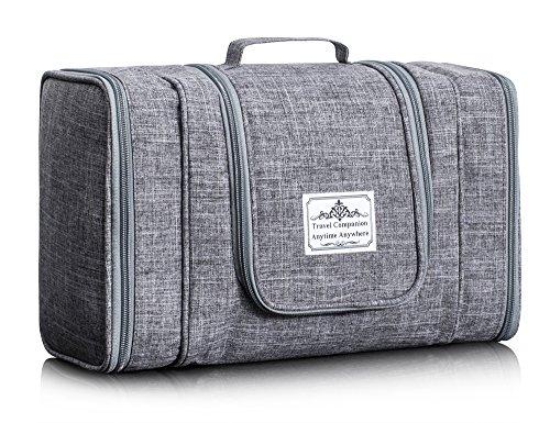 fc402349ea74 Multifunctional Cosmetic Bag Toiletry Bag Bathroom Storage Women Travel Bag  Hanging Organizer Bag by TOPERIN (