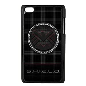 ipod touch 4 phone cases Black S.H.I.E.L.D cell phone cases Beautiful gifts YWTS0413434
